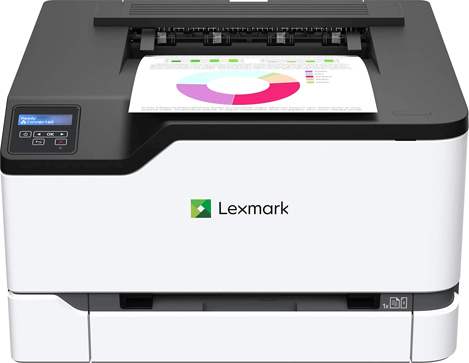 Lexmark C3326dw Color Laser Printer