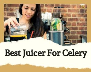 Top 10 Best Juicer For Celery to Buy