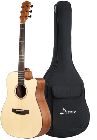 Donner_DAG-1C_Beginner_Acoustic_Guitar_Full_Size