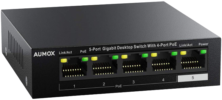 Aumox_5_Port_Gigabit_Ethernet_POE_Switch-removebg-preview