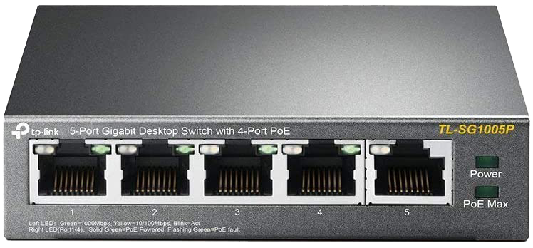 TP-Link 5 Port Gigabit POE Switch