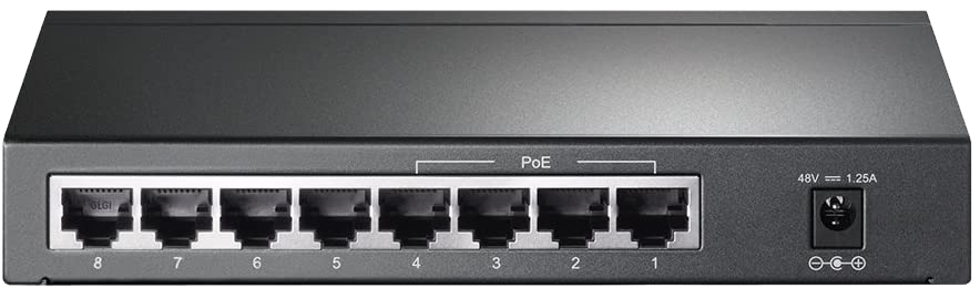 TP-Link 8 Port POE Gigabit Switch (1)