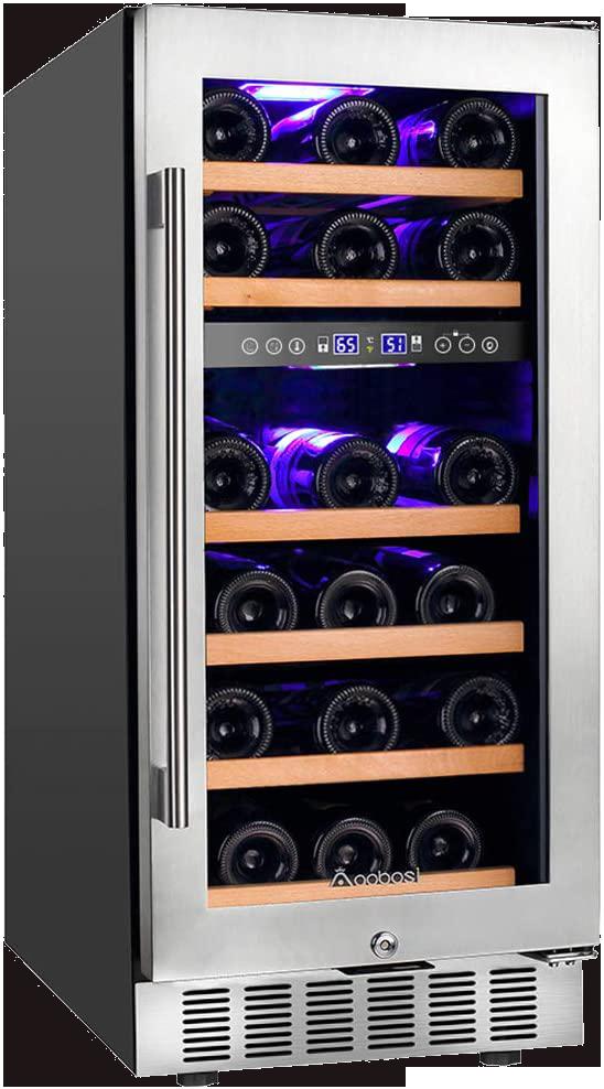 Aobosi 15 Inch Wine Cooler
